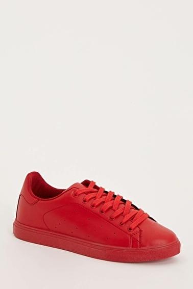 DeFacto Bağcıklı Ayakkabı Kırmızı